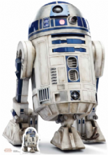 R2-D2 (The Last Jedi) Star Wars Cutout